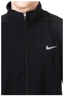 Nike Black Polyester Terry Jacket