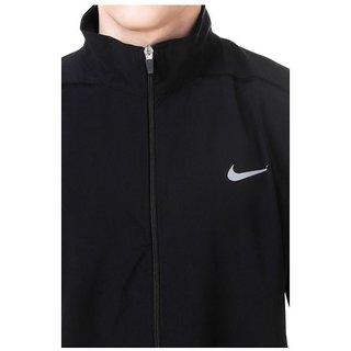 Buy Nike Black Polyester Terry Jacket Online Get 70 Off