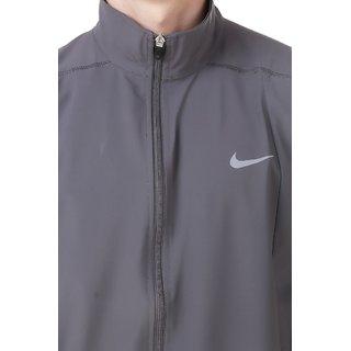 6f16f05e35 Buy Nike Men's Black Polyester Lycra Jacket Online - Get 86% Off