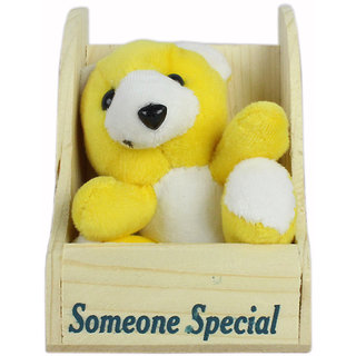 Spero Soft Toy Special Heart Teddy for Someone Special Girls/Boys and Special Gift/Teddy for Kids -16.2 cm(Pack of1)