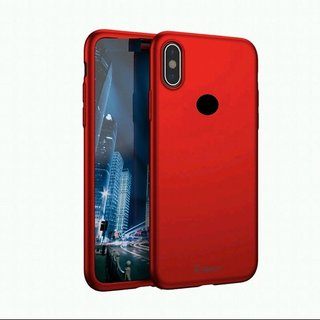 9e23870a07 -50% IPkay 360 Degree Full Body Protection Front+Back Case Cover with  Tempered Glass.