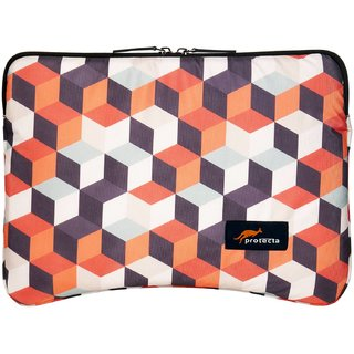 Protecta Building Blocks Laptop Sleeve for Laptops with Screen Size up to 11 inch - Imprint Series