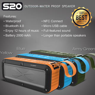 W-KING Outdoor Dropproof Waterproof Dustproof Bluetooth 4.0 Wireless Speaker
