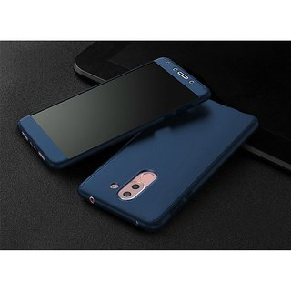 Lenovo K8 Plus Bumper Cases ClickAway - Blue with free selfie stick