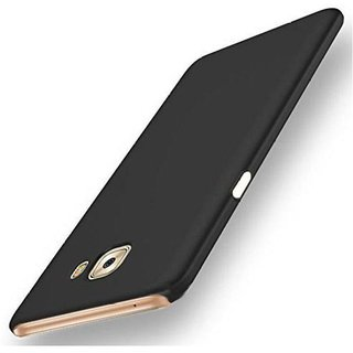 Samsung Galaxy C7 Pro Plain Cases ClickAway - Black