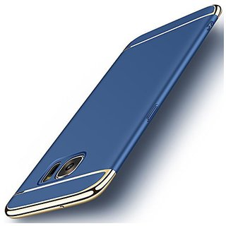 Samsung Galaxy C9 Pro Plain Cases Tidel - Blue