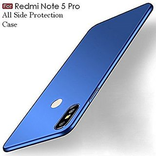 Redmi Note 5 Pro Plain Cases ClickAway - Blue