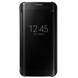 Samsung Galaxy J7 2016 Flip Cover by 2Bro - Black