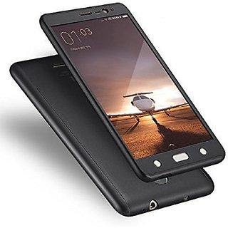 Redmi Note 3 Anti Gravity Cover ClickAway - Black with free selfie stick