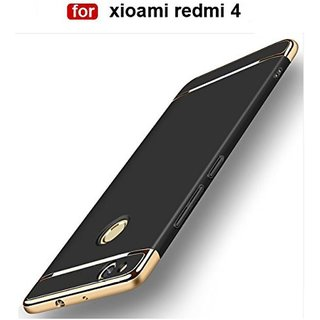 Redmi 4 Plain Cases 2Bro - Black