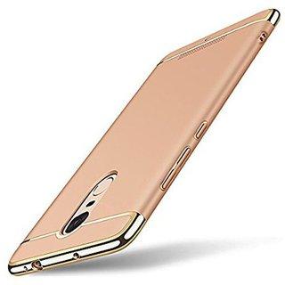 Redmi Note 4 Plain Cases ClickAway - Golden