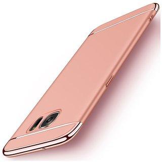Samsung Galaxy J7 Max Plain Cases ClickAway - Rose Gold
