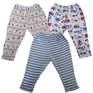 Magic Train Infant Cotton Regular Fit Pull Ons (Pack of 3)