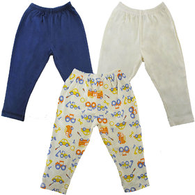 Magic Train Infant Regular Fit Cotton Pull Ons (Pack of 3)