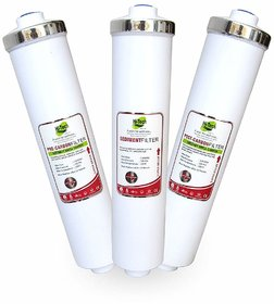 Hi-Tech Water Purifier Filter Set For Any Water Purifier, 10 Inch,With 6 pcs Connector