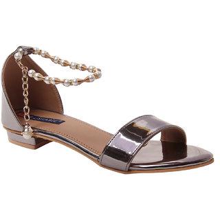 MSC women Synthetic Grey sandal