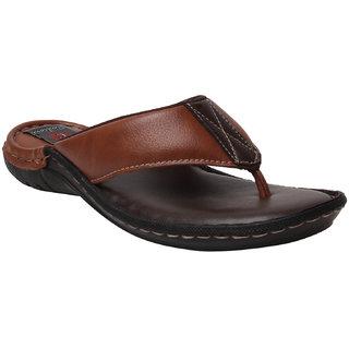 Corleone Men Tan Synthetic Sandal
