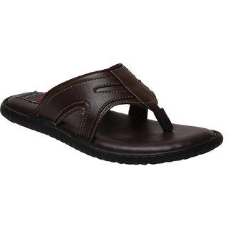 Corleone Men Brown Synthetic Sandal