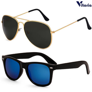 dd35411c430 Buy Vitoria Stylish Unisex Fashionable Sunglasses With Box (Pack Of ...