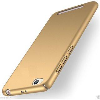 Redmi 4A Plain Cases PKSTAR - Golden