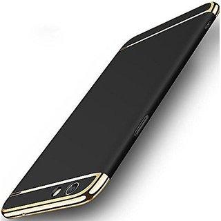 Oppo F5 Plain Cases 2Bro - Black