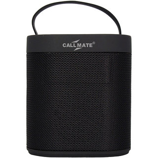 Callmate J-43 Portable Wireless Bluetooth Speaker - Black