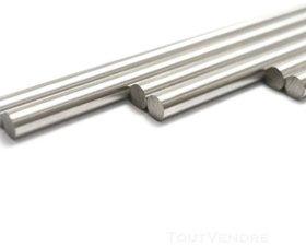 2pcs SS Smooth Rod 10mm OD, long 500 mm (0.5mtr)