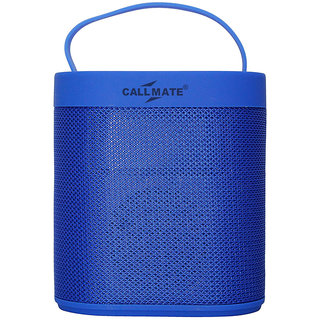 Callmate J-43 Portable Wireless Bluetooth Speaker - Blue