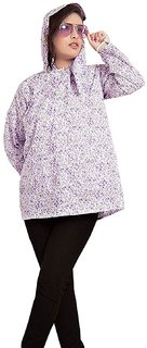 Mask Suncoat-Long Sleeves Cotton Sun Coat for Women (Important Note  Print Design may vary, As per Stock)