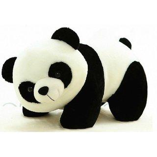 For U Tickles Stuffed Soft Plush Toy Kids Birthday Black Panda 26 cm