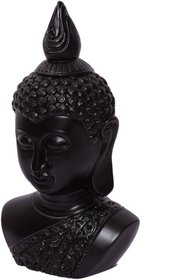 Ak International's Exclusive Handcrafted Table Top Wooden Lord Buddha With Melamine Finish