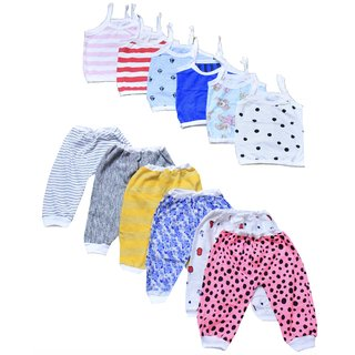 85421cce650f Buy 6 Jabla 6 Pajama Combo from Just born to 2 Years Online   ₹425 ...