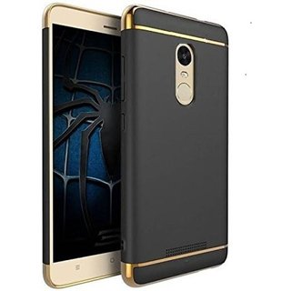 Redmi Note 4 Plain Cases 2Bro - Golden