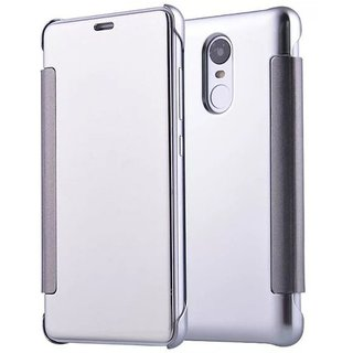 Redmi Note 3 Flip Cover by YGS - Silver