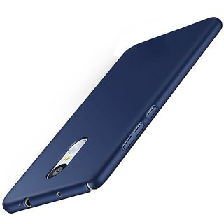 Redmi Note 4 Plain Cases Ganesham - Blue