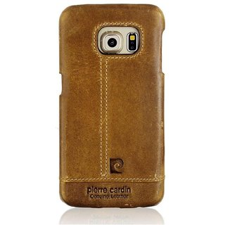 Samsung Galaxy S6 Edge Cover by Saira - Brown