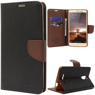 Vivo V5 Flip Cover by PKSTAR - Brown
