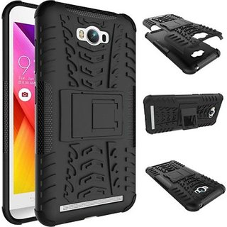 Asus Zenfone Max Case With Stand by OM - Black