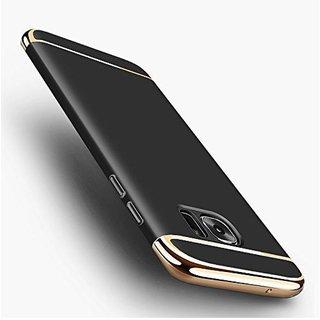 Samsung Galaxy C9 Pro Plain Cases SUNNY FASHION - Black