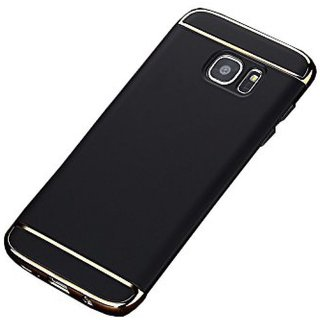 Samsung Galaxy J7 Prime Plain Cases SUNNY FASHION - Black
