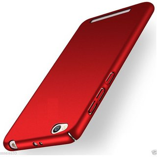 Redmi 4A Plain Cases PKSTAR - Red