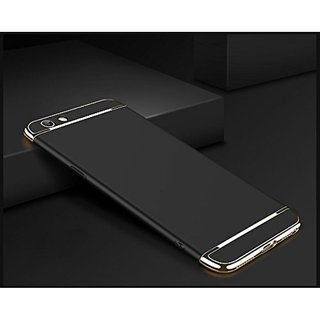 Oppo A57 Plain Cases SUNNY FASHION - Black