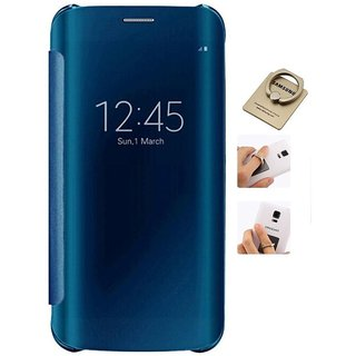Samsung Galaxy J7 Prime Flip Cover by ClickAway - Blue