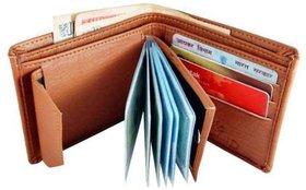 Fantasy dcor Brown Leather Wallet ideal for Men