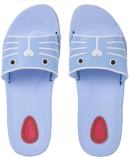 Czar Flip Flops Slipper for Women RO-09 Sky Blue