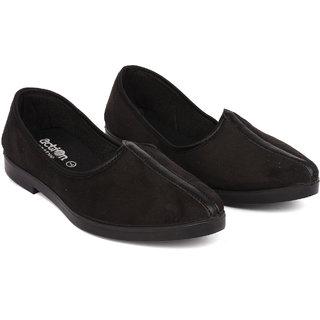 Action Mens Black Casual Shoe