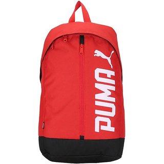801604077df Buy puma pioneer II Red bagpack Online - Get 46% Off