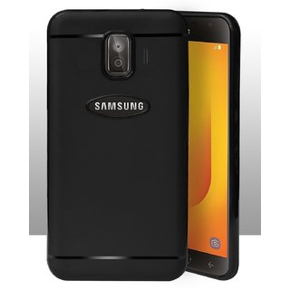 detailed look fee37 60b6b ECellStreet Protection Slim Flexible Soft Back Case Cover For Samsung  Galaxy J2 / J2 Pro J250F (2018) - Black