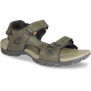 Sparx Men SS-471 Olive Black Sandals