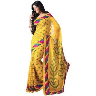 Sharda creation Multicolour Bhagalpuri Silk saree With blouse piece